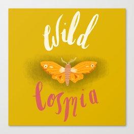 Wild Cosmia Canvas Print