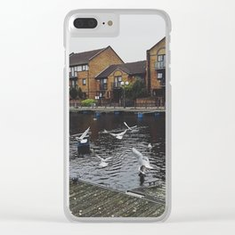 Seagulls Clear iPhone Case