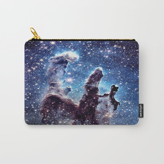 Pillars of Creation Smokey Blues Carry-All Pouch