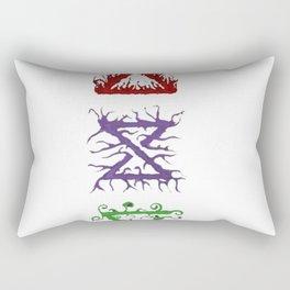 Witcher Signs Rectangular Pillow