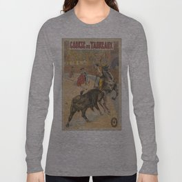 Vintage poster - Course de Taureaux Long Sleeve T-shirt