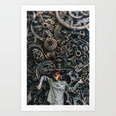 bio mechanism Art Print