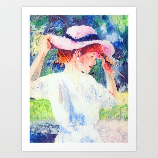 Lucille Art Print