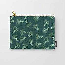 Broccoli color Carry-All Pouch