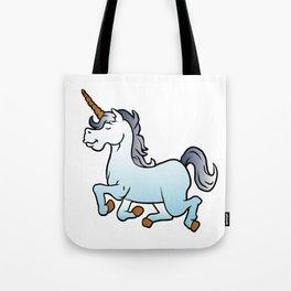 cartoon unicorn Tote Bag