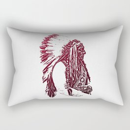 Sitting Bull Rectangular Pillow