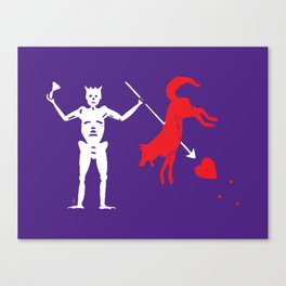 Beat State Canvas Print