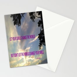 """"""" SMILE """" Stationery Cards"""