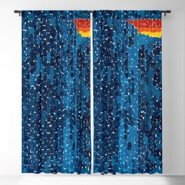 Alma Thomas, African American Portrait, Lucias Unity abstract painting Blackout Curtain