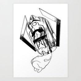 Baby Galactus Art Print