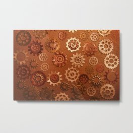gears and cogs Metal Print