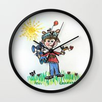 calendars Wall Clocks featuring :: You Are My Sunshine :: by :: GaleStorm Artworks ::