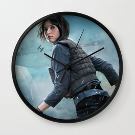Jyn Erso Rogue One Wall Clock