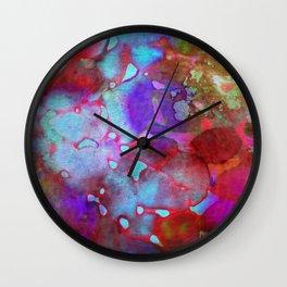 color burst Wall Clock