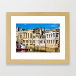 York City Guildhall in the spring sunshine. Framed Art Print