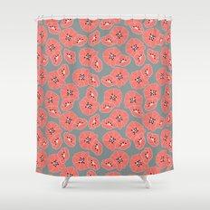 Retro bloom 002 Shower Curtain