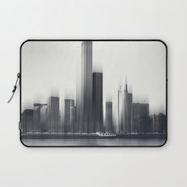 Rotterdam Skyline Abstraction Laptop Sleeve