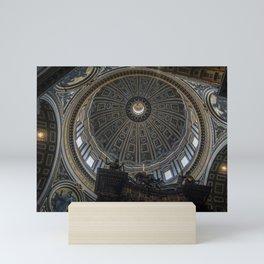 St. Peter's Basilica Dome Mini Art Print