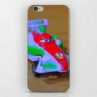 car iPhone & iPod Skins featuring car by aticnomar