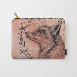 Fox & Wreath Carry-All Pouch