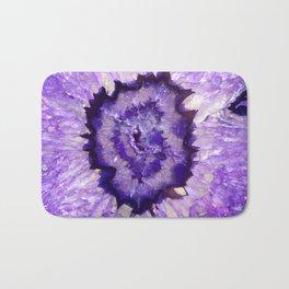 Purple Agate Geode Bath Mat