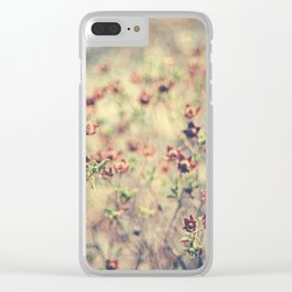 By your side Clear iPhone Case