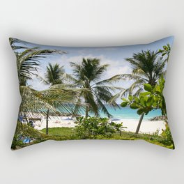 Caribbean Palms Rectangular Pillow