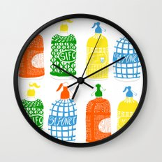 Barcelona vermouth Wall Clock