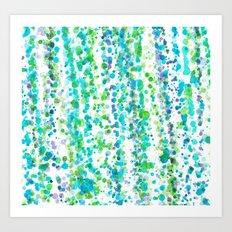 Colours cascais Art Print