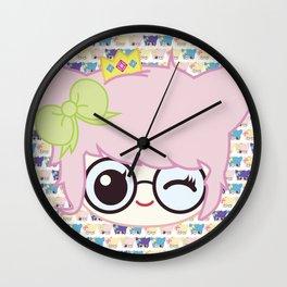 SUCHPLUSHSEWWOW CHIBI #1 Wall Clock