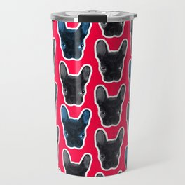 BATPIG artRAVE Red Travel Mug