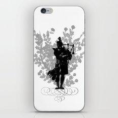 Flower of Scotland iPhone & iPod Skin
