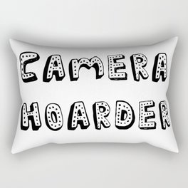 Camera Hoarder Rectangular Pillow