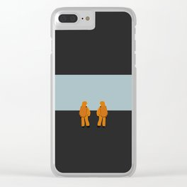 The Day They Arrived Clear iPhone Case