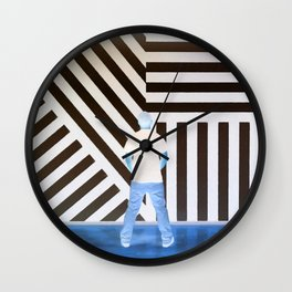 The Ghost at the Museum Wall Clock