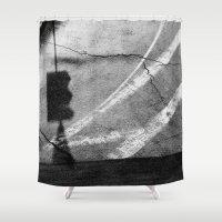 street Shower Curtains featuring street by shveshki.istorii