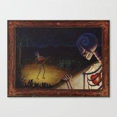 La Serenata Canvas Print