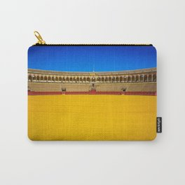 Bullring arena Carry-All Pouch