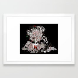 Starry Holiday Framed Art Print