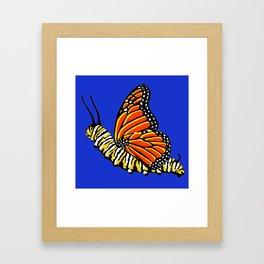 Caterfly Framed Art Print