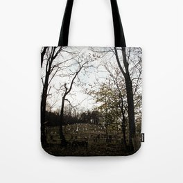 Spooky town Tote Bag