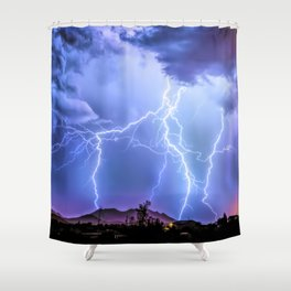 It's Showtime! Shower Curtain