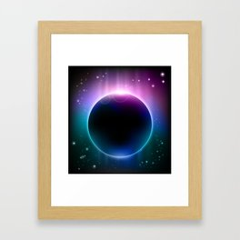 Give Me Some Space 1 Framed Art Print