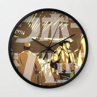 manga Wall Clocks featuring Manga 08 by Zuno