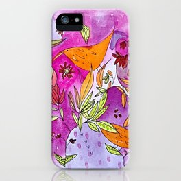 Birds in paradise iPhone Case