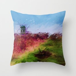 Mill on the Hill Throw Pillow