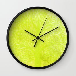 Apple peas - Pomme de pois Wall Clock