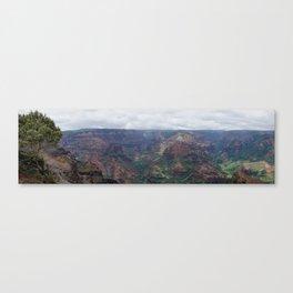 Waimea Canyon Panorama Canvas Print