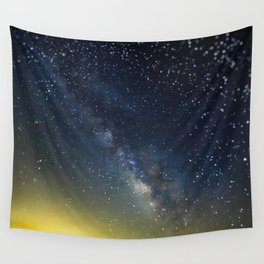 Milky Way bokeh Wall Tapestry