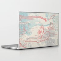 peacock Laptop & iPad Skins featuring Peacock by Heinz Aimer